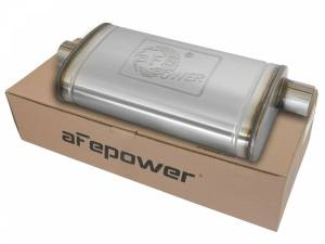 Exhaust Components - Mufflers - aFe Power - aFe Power MACH Force-Xp 409 Stainless Steel Muffler 49M00016