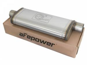 Exhaust Components - Mufflers - aFe Power - aFe Power MACH Force-Xp 409 Stainless Steel Muffler 49M00017
