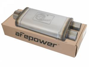 Exhaust Components - Mufflers - aFe Power - aFe Power MACH Force-Xp 409 Stainless Steel Muffler 49M00018