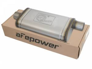 Exhaust Components - Mufflers - aFe Power - aFe Power MACH Force-Xp 409 Stainless Steel Muffler 49M00019