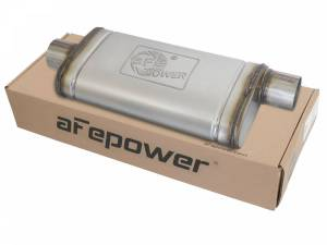 Exhaust Components - Mufflers - aFe Power - aFe Power MACH Force-Xp 409 Stainless Steel Muffler 49M00020