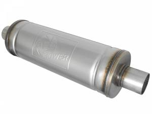Exhaust Components - Mufflers - aFe Power - aFe Power MACH Force-Xp 409 Stainless Steel Muffler 49M00021