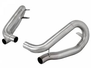 Exhaust Components - Mufflers - aFe Power - aFe Power MACH Force-Xp 304 Stainless Steel Muffler Delete Pipe 49C36412