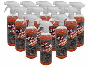 Air Intakes - Accessories - aFe Power - aFe Power Magnum FLOW Pro DRY S Air Filter Power Cleaner, 24 oz Spray Bottle (12-Pack) 90-10112